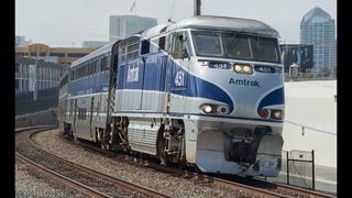 4K - Summer Railfanning in San Diego County - Amtrak, Coaster, BNSF, & Metrolink Trains