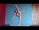 Contortion flexibility yoga Flexible gymnastics contortion stretching
