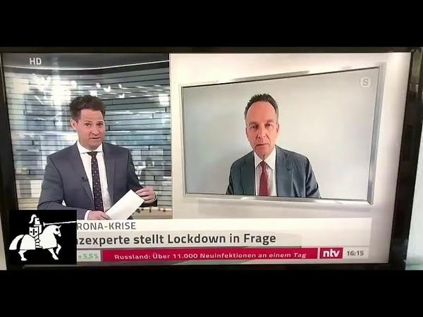 Corona nur noch ein politisches Spiel ohne sachliche Grundlage Prof Dr Stefan Homburg bei n tv