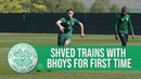 Marian Shved's first Celtic training session 🆕🇺🇦