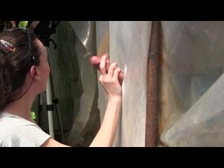 Sylvia chrystall - amateur young milf gloryhole blowjob deepthroat cumshot