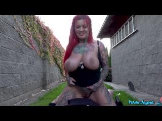 Sabien demonia cum play in my lady garden porno, big tits, big ass, blowjob, public, red head, tatoo