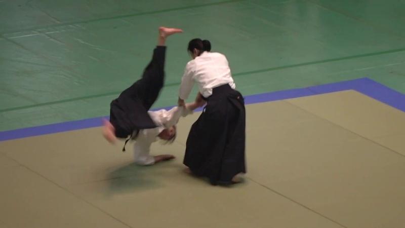 Okamoto Shihan 2019 All Japan Aikido Embukai