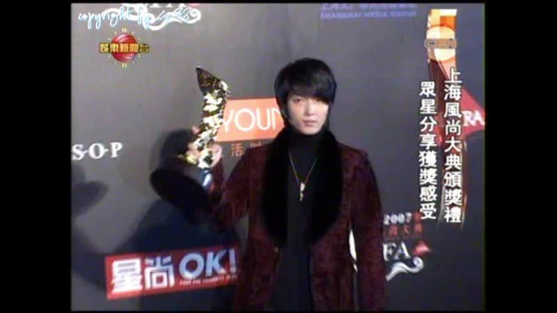 2007.12.09 Korea Actor Award of in Asia Icon Category of Shanghai_by 82_jkchina