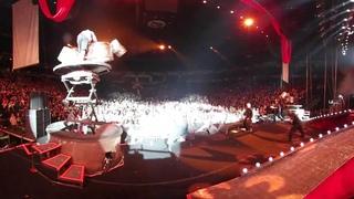 Slipknot live on tour in VR 2016
