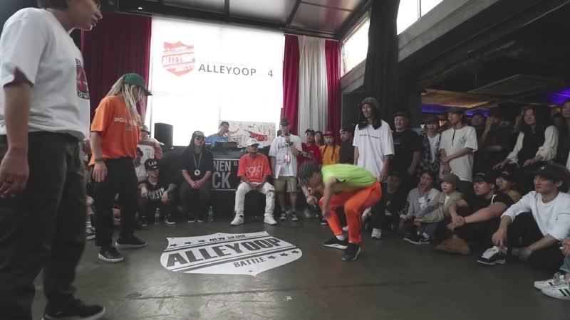 Chocol Halo vs. Drop G.V. - Hiphop Quarter final @Alleyoop vol.4
