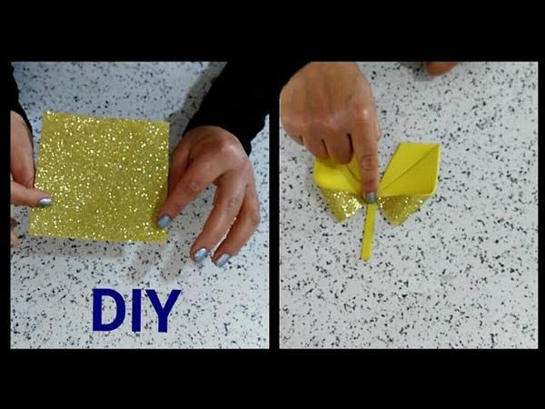 أسهل ما يمكن تحضيره بقطعة من ورق الفوم Decorazione natalizia DIY Ar