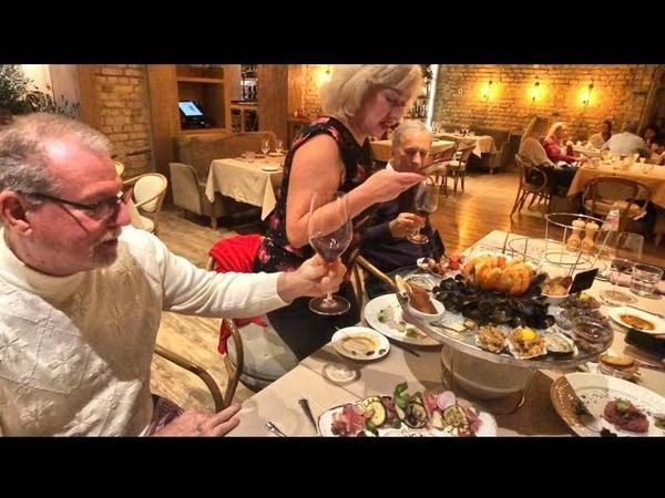 Итальянский ресторан в Риге шокировал Винсента...