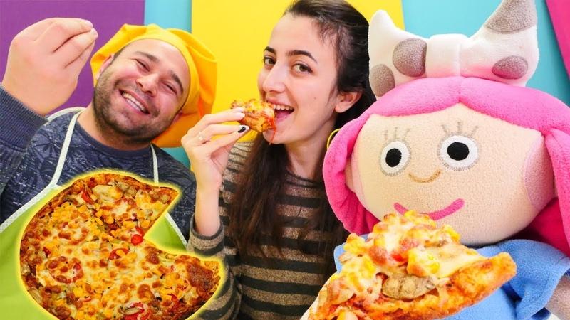 Kafe oyunu Kadir Usta Smarta için pizza yapıyor Yemek yapma oyunları