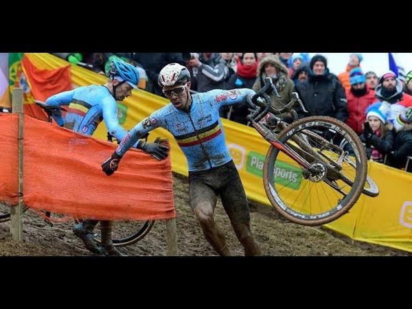 Циклокросс лучшие моменты The Epic Cyclocross Battles