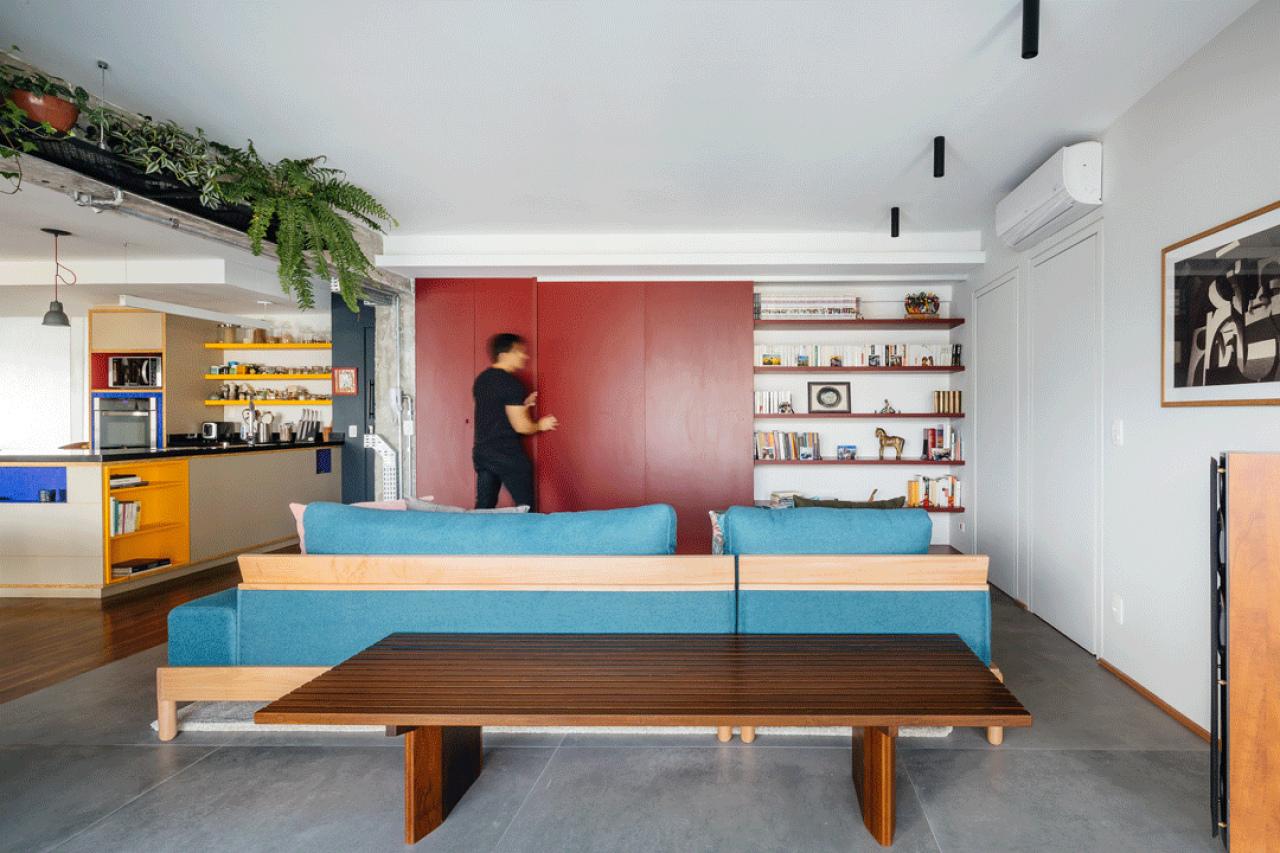 Expansion of Apartment in Brazil Building / Alvorada Arquitetos