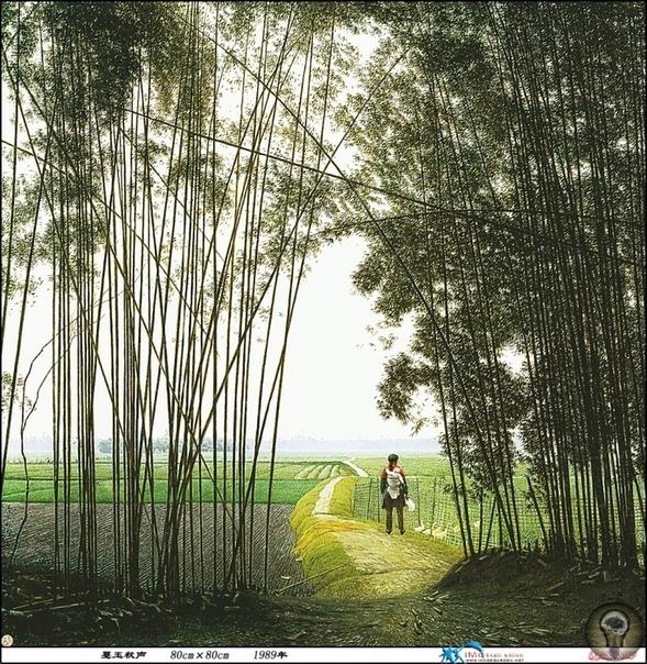 Медитация и созерцание в картинах китайского художника Jian Chong Min