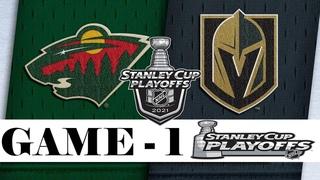 Minnesota Wild vs Vegas Golden Knights | Stanley Cup 2021 | Game 1 | , 2021 | Обзор матча