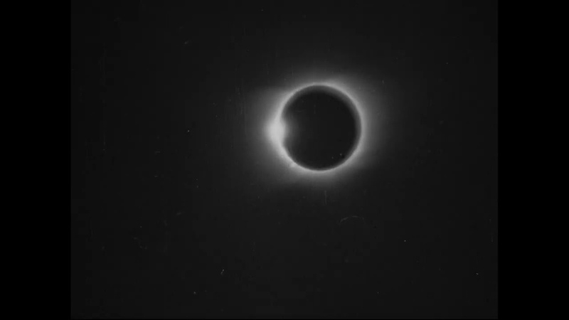 Solar Eclipse 1900 the first moving image of an astronomical phenomenon BFI