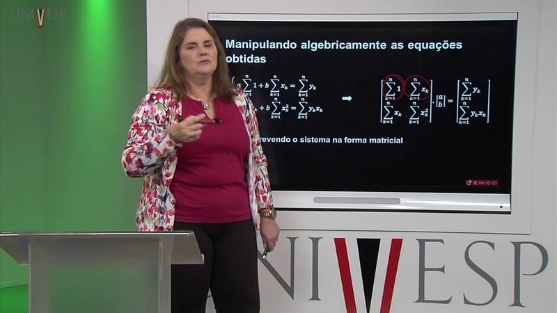 Cálculo Numérico Aula 10 Método dos Mínimos Quadrados regressão linear
