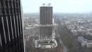 Sprengung 116 Meter Hochhaus (AfE-Turm) in Frankfurt am 02.02.2014 - Full HD, Zeitlupe Opferkamera