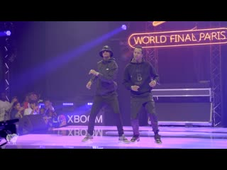 LES TWINS ft SALIF - Performance at Red Bull Dance Your Style World Finals | Paris, France YAK FILMS