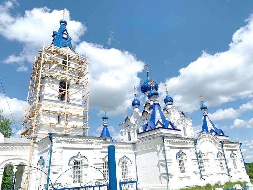 В селе Шапта реставрируется храм, изображение №2