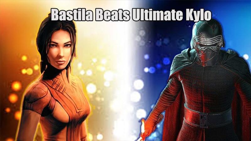 Bastila Jedi Crush Ultimate Kylo SWGoH