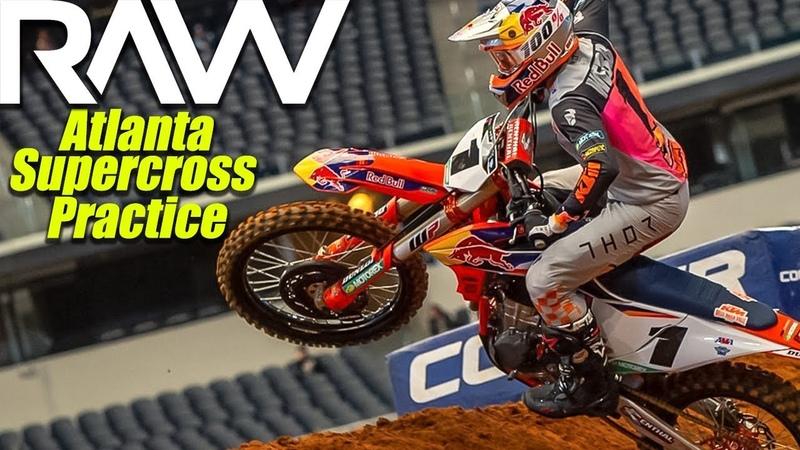 Atlanta Supercross Practice RAW - Motocross Action Magazine