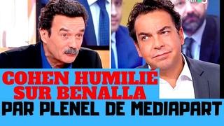 Edwy Plenel de Médiapart humilie Patrick Cohen sur l'affaire Benalla