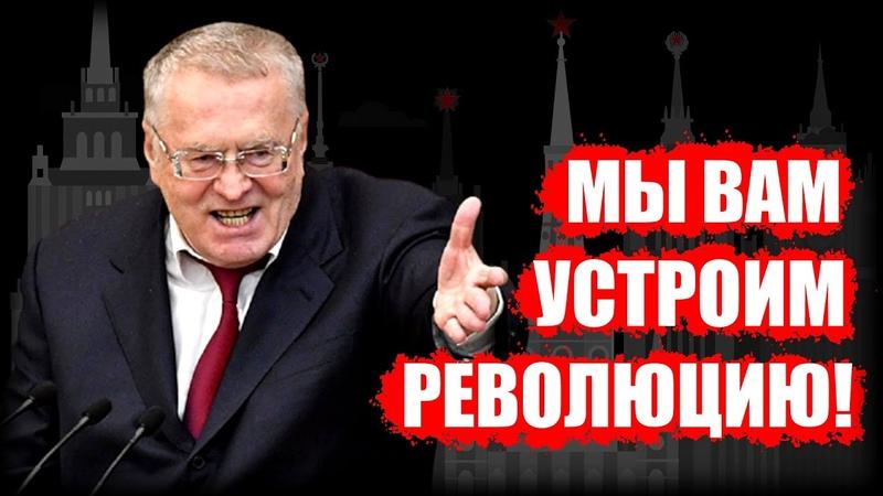 Скандал Жириновский пригрозил революцией в ответ на задержание Фургала