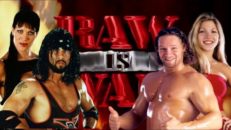WWE 2K20 X Pac w Chyna vs Val Venis w Ryan Shamrock Raw Is War '98