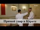 Прямой удар цки в Карате Мераб Ботерашвили