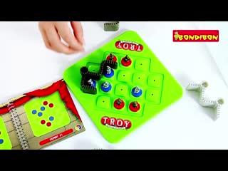 Логическая игра bondibon smart games троя