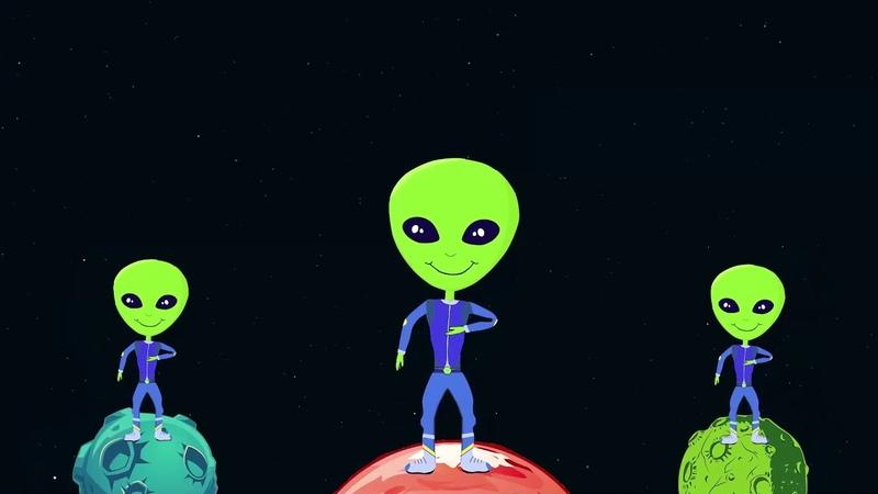 Сучасна фізкультхвилинка Alien Dance