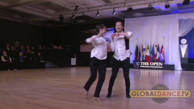 Tze Yi Wee Maria Elizarova The Open 2019 Champions Strictly Finals