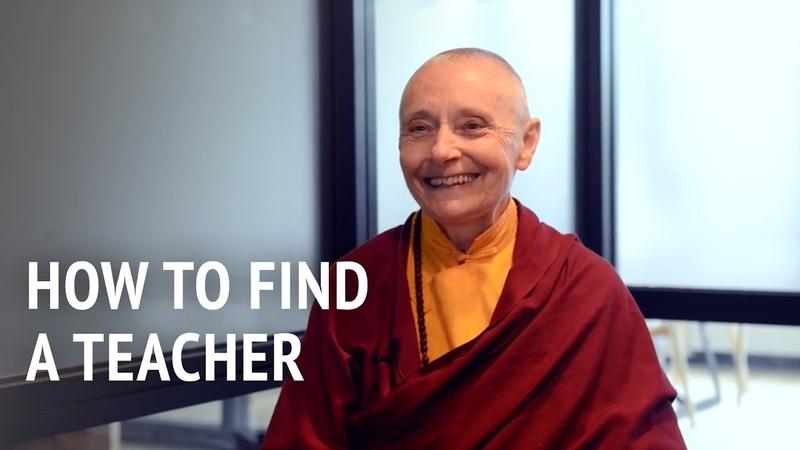 Jetsunma Tenzin Palmo How to Find a Teacher