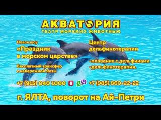 """Приглашаем Вас в Театр Морских Животных """"АКВАТОРИЯ"""""""