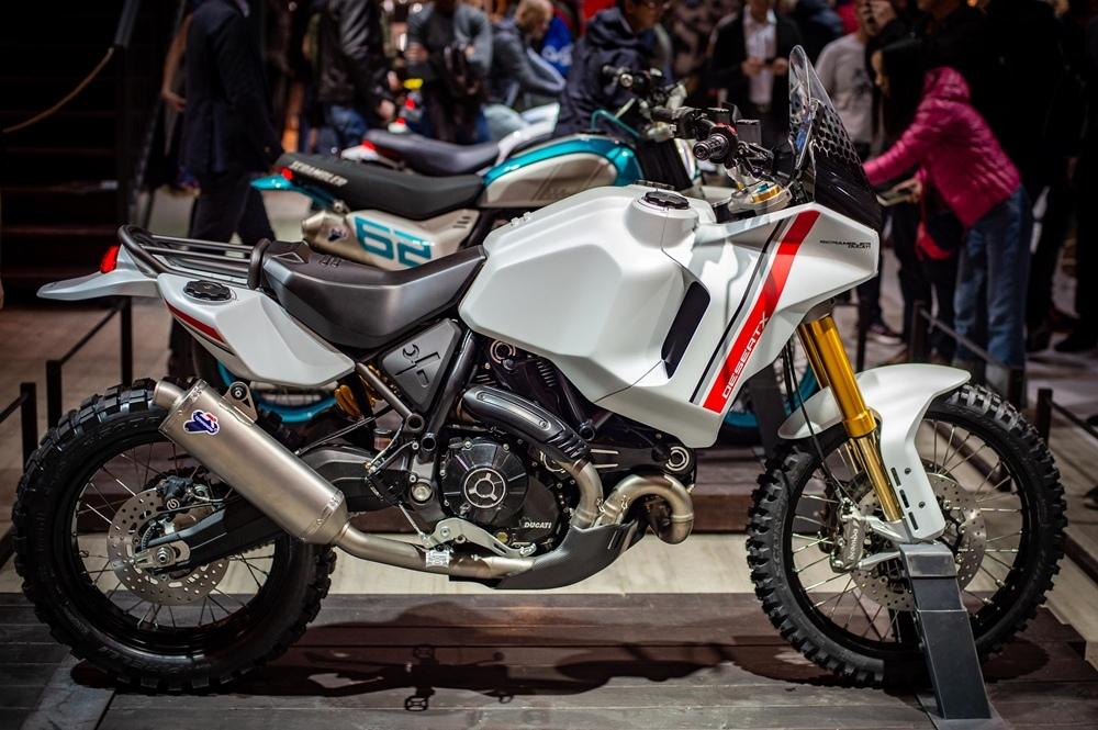 Концепт Ducati Scrambler Desert X на EICMA 2019