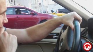 Phil Baroni locks some guys keys in his trunk on Las Vegas Blvd