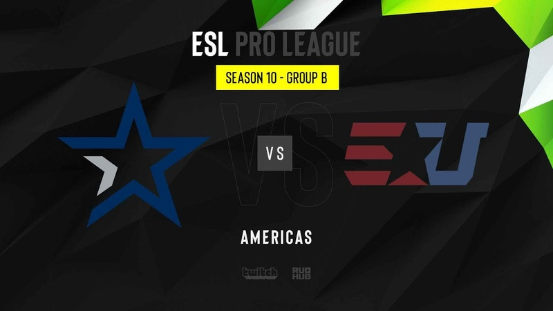 Complexity vs eUnited ESL Pro League Season 10 NA map2 de dust2 sleepsomewhile MintGod