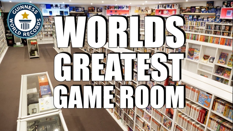 𝐖orlds Greatest Game Room