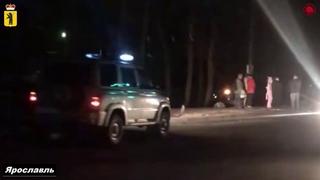 ДТП Ярославль, Тутаевское шоссе Škoda Octavia вылетела в кювет