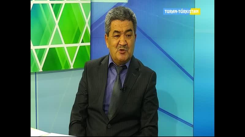 Түркістан ақпарат Мемлекеттік кірістер департаментінің түсіндіру жұмыс басқармасының басшысы Ә Ш Лесовпен сұхбат