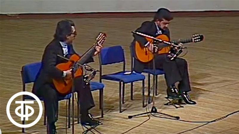 Д Роблес Полет кондора Играет дуэт Лос Брильянтес Los Brillantes Rene Y Daniel 1982