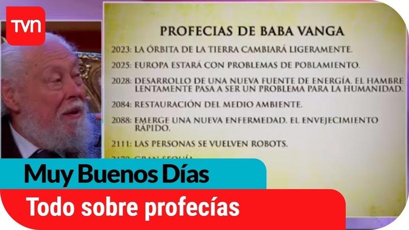 Hugo Zepeda responde las dudas sobre los secretos de las profecías Muy buenos días