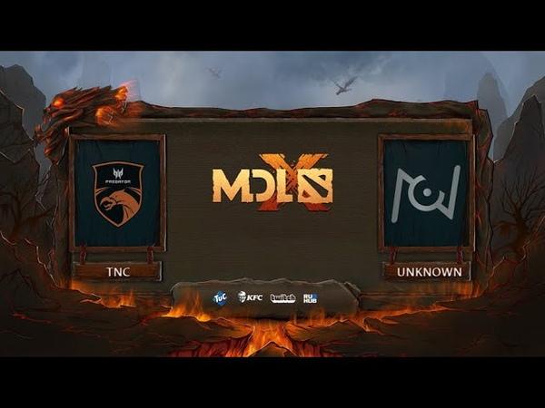 TNC Predator vs Team Unknown, MDL Chengdu Major, bo3, game 2 [Mila]