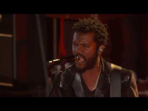 Gary Clark Jr with The Roots This Land Live from the 62nd Annual Grammy Awards