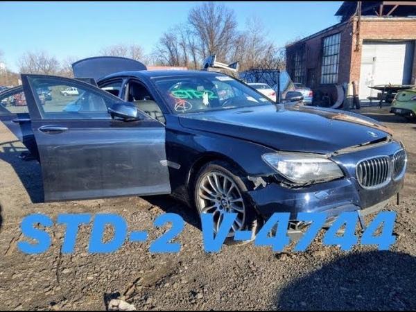 Авто из США BMW 750 XI 2014 Аукцион Copart