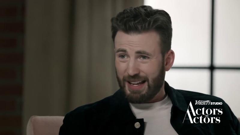 Actors on Actors Chris Evans Scarlett Johansson НА РУССКОМ ЧАСТЬ 2