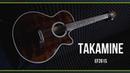Электроакустическая гитара TAKAMINE EF261S AN