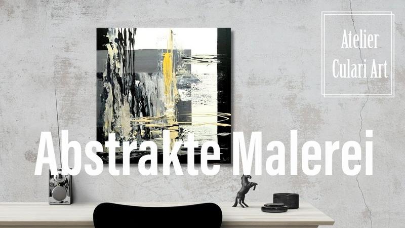 Moderne Kunst Abstrakte Malerei | Acrylmalerei Künstlerin Larissa Chupakhina