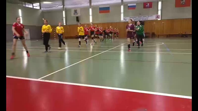 Первенство Москвы (2006/7 г.р.) СШОР 53 vs СШ 76 (1-й тайм)