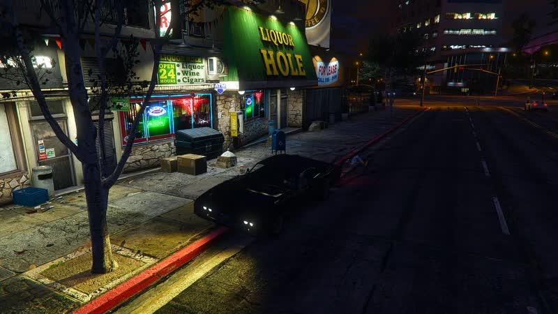 Grand Theft Auto V На ультра 970gtx онлайн 90фпс SweetFX и GeForce Experience настройка цвета