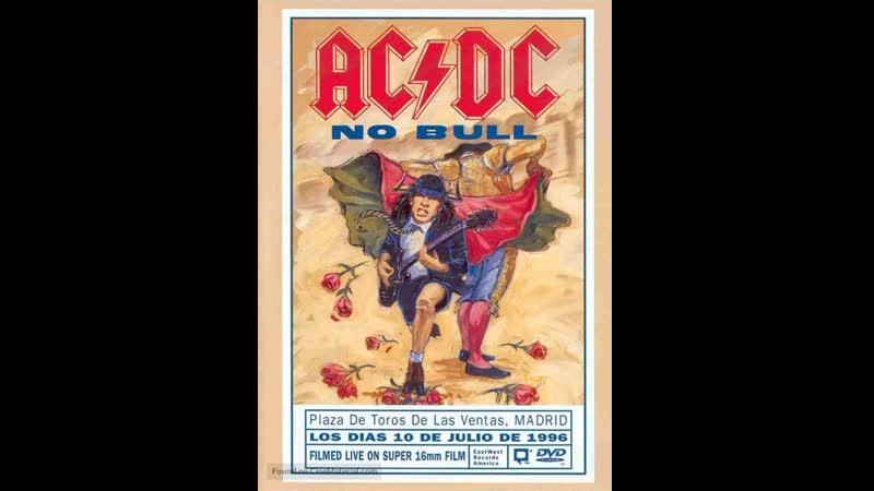 AC/DC No Bull Madrid 1996 - Full Concert part 1